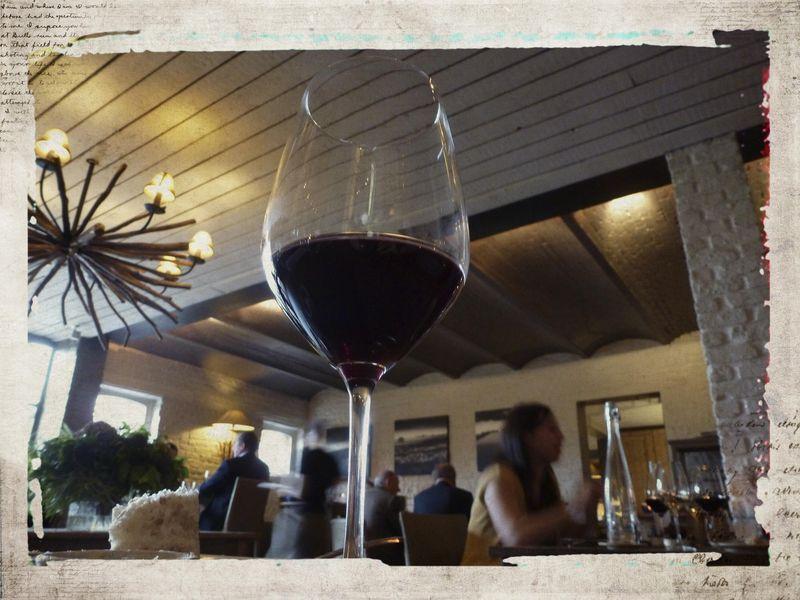 Wine glass altered