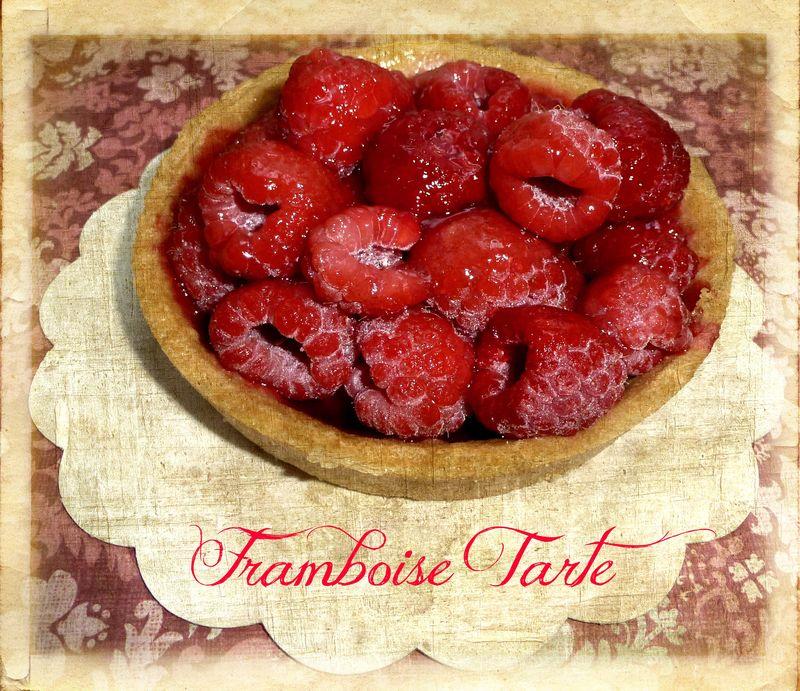 Framboise tarte