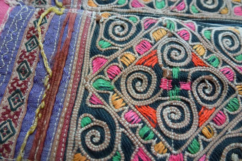Lao fabric 12