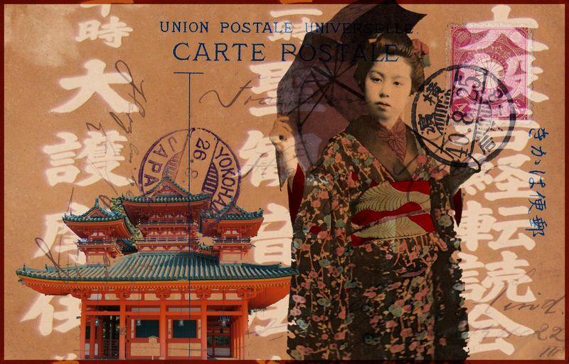 Geisha collage