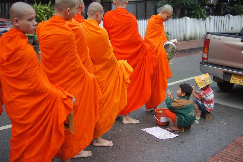 Monk procession 14