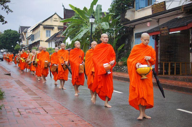 Monk procession 4