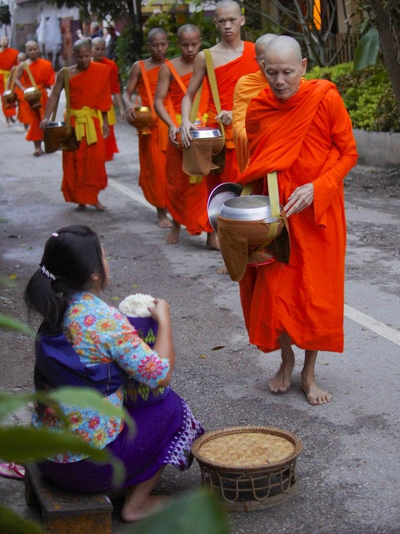 Monk procession 6
