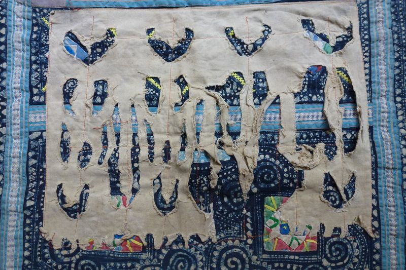 Vietnan hill tribe fabric 17