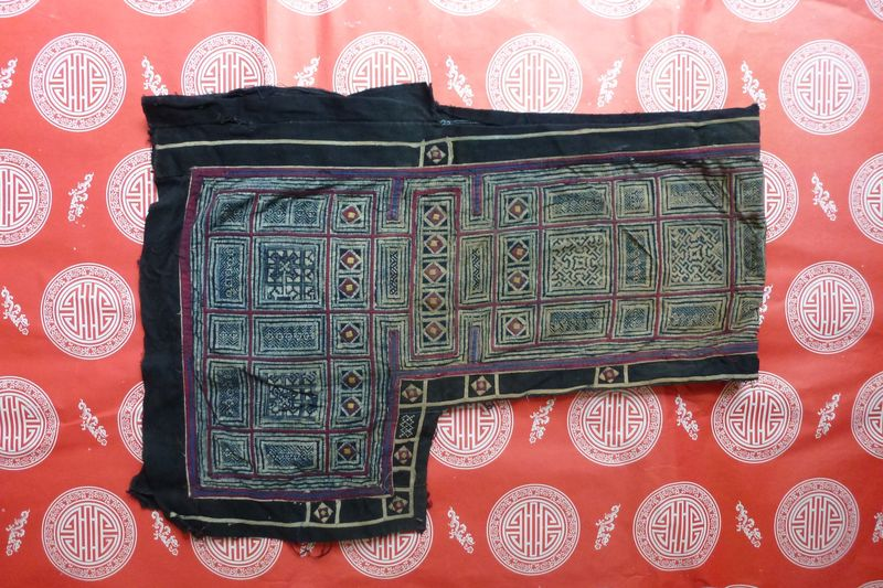 Vietnam hill tribe fabric 6