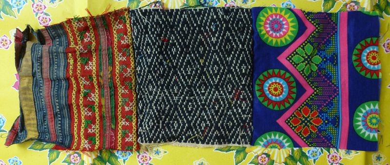 Vietnam hill tribe fabric 24