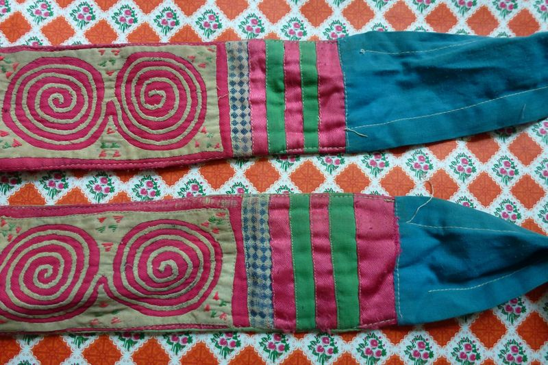 Vietnam hill tribe fabric 7