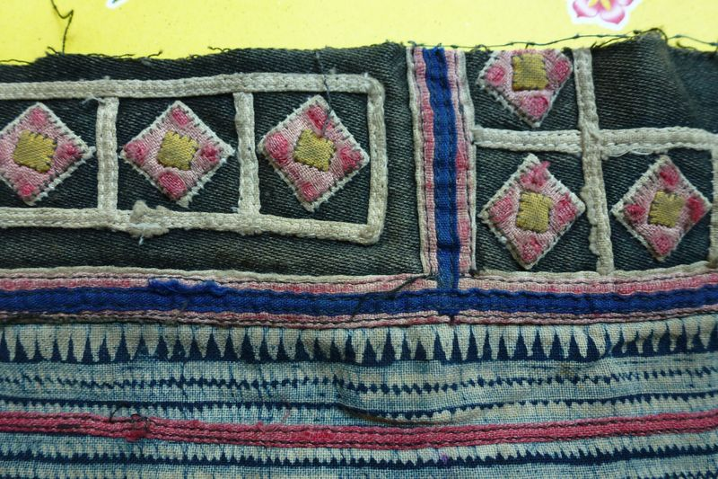 Vietnam hill tribe fabric 23