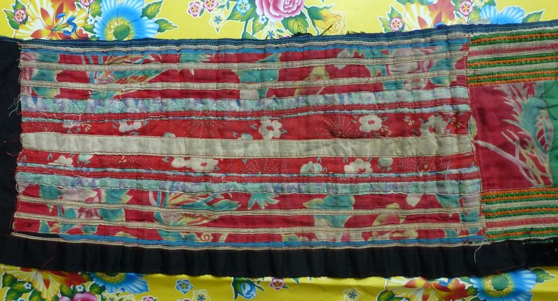 Vietnam hill tribe fabric 25