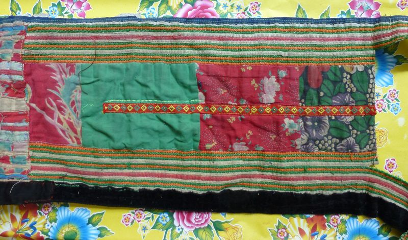 Vietnam hill tribe fabric 26