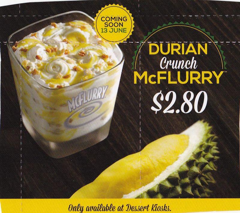 Durian mcflurry