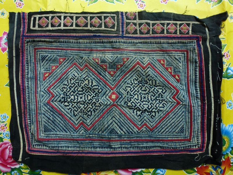 Vietnam hill tribe fabric 22