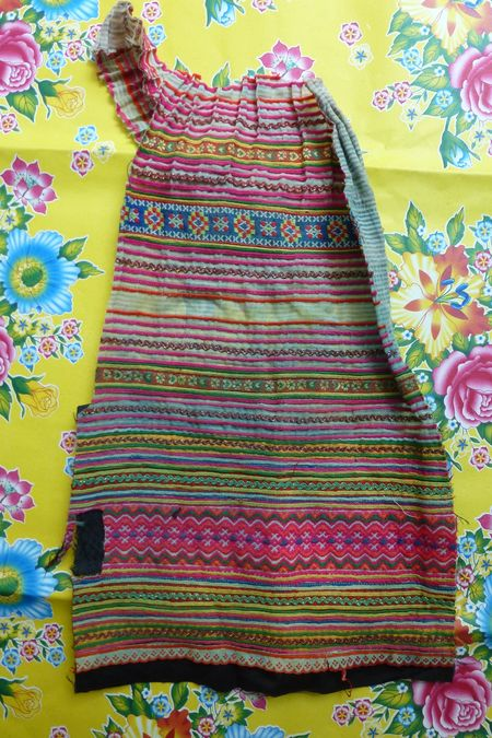 Vietnam hill tribe fabric 13
