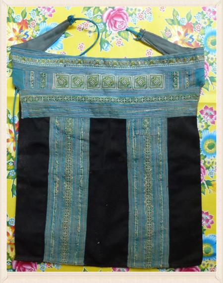 Vietnan hill tribe fabric 14