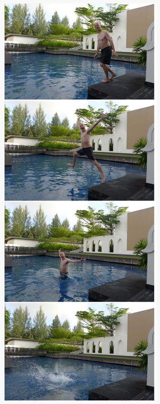 D in pool