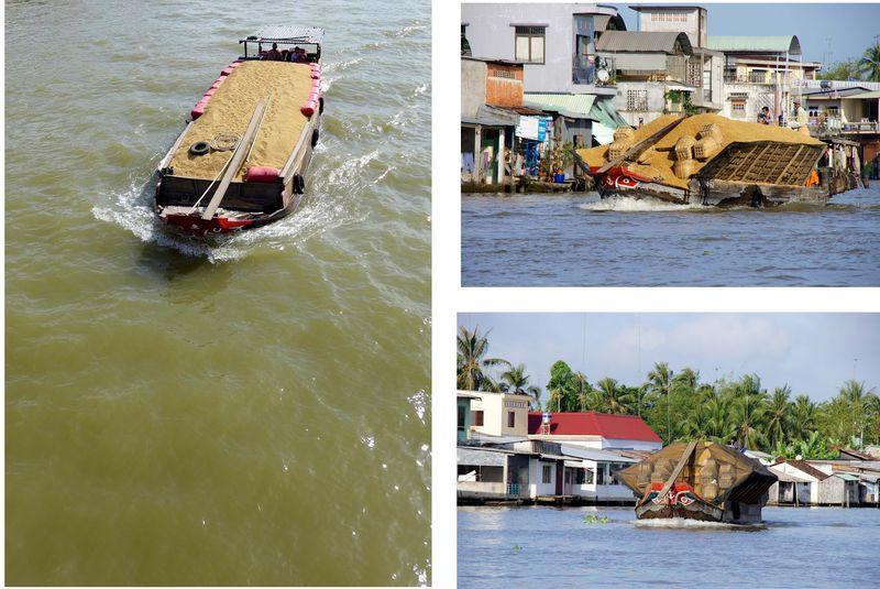 Rice boat