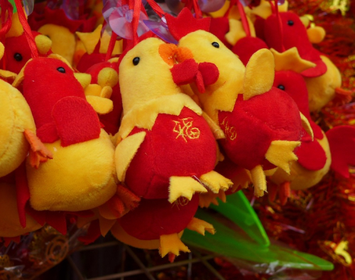 Chinese new year rooster 2
